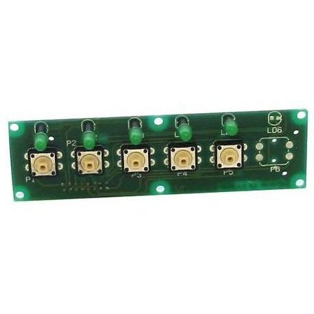 CIRCUIT CLAVIER LED VERT - FNAQ755