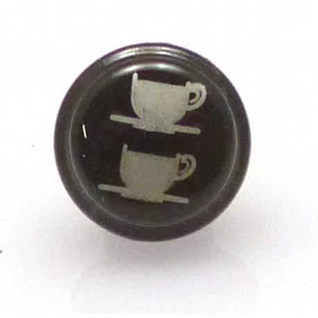 BOUTON BLEU CAFE LONG DROIT ORIGINE SAN REMO - FNAQ769