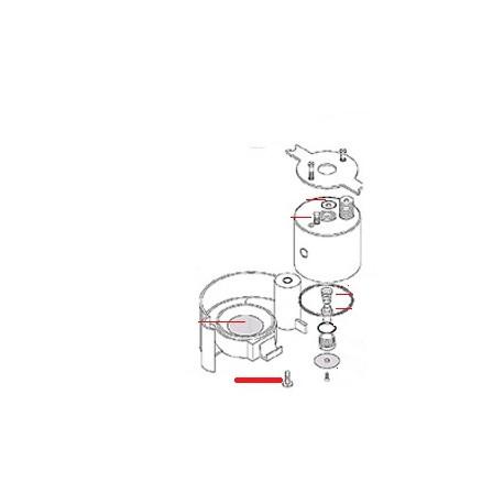 VIS M6X12 TETE RONDE ORIGINE SAN REMO - FNAQ710