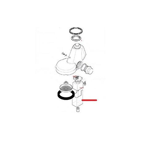 COUVERCLE ELECTROVANNE ORIGINE SAN REMO - FNAQ805