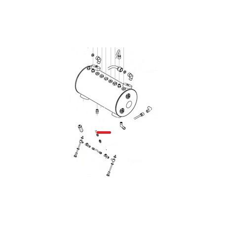TUBE ALIMENTATION 1ER GR 2GR SED ORIGINE SAN REMO - FNAQ804