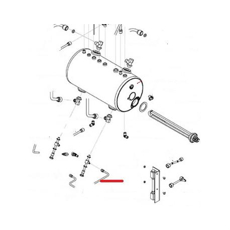 TUBE ALIMENTATION 2GR-3GR ORIGINE SAN REMO - FNAQ820