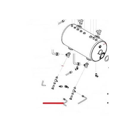 TUBE ALIMENTATION 1ERGR/2GR ORIGINE SAN REMO - FNAQ823