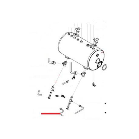 TUBE ALIMENTATION 1ERGR/3GR ORIGINE SAN REMO - FNAQ824