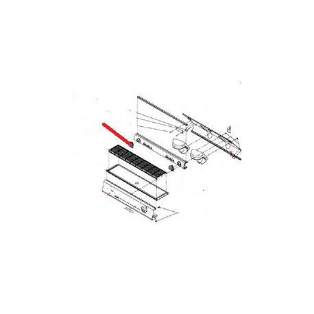 CACHE ROBINET NOIR MILANO ORIGINE SAN REMO - FNAQ073