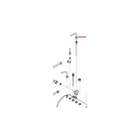 TUBE PRELEVEMENT EAU CHAUDE 2G ORIGINE SAN REMO - FNAQ032