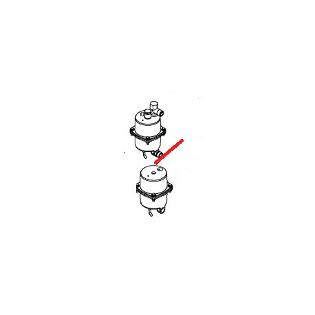 CHAUDIERE TCS GAUCHE 1000W ORIGINE SAN REMO - FNAQ114