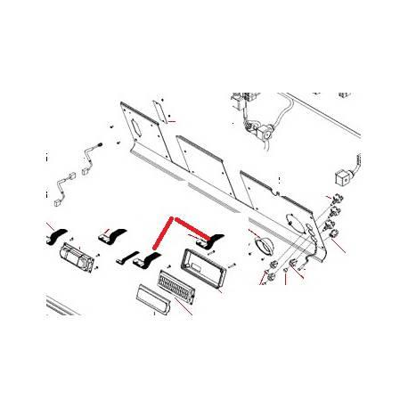CABLE PLAT 900MM ORIGINE SAN REMO - FNAQ285