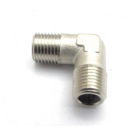 RACCORD COUDE 1/4 M.M ORIGINE SIMONELLI - FQ80