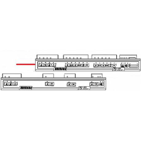 BOITIER 4GROUPES PR/V ORIGINE SIMONELLI - FQ827