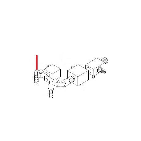 RACCORD COUDE 1/8 ORIGINE SIMONELLI - FQ417