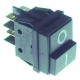 INTERRUPTEUR 30X22MM 2POLES 0-1 250V 16A TMAXI 85°C - TIQ79740