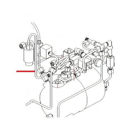 TUBE SOUPAPE ORIGINE SIMONELLI - FQ6558