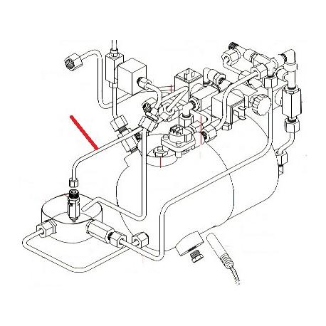 TUBE CHAUDIERE VAPEUR ORIGINE SIMONELLI - FQ6577