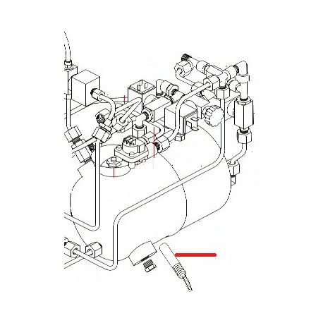 RESISTANCE 600W 230V ORIGINE SIMONELLI - FQ6570