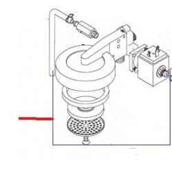GROUPE COMPLET OSCAR 230V ORIGINE SIMONELLI
