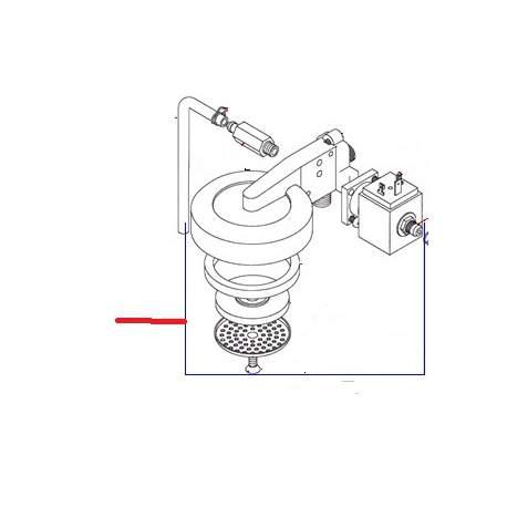 GROUPE COMPLET OSCAR 230V ORIGINE SIMONELLI - FQ6755