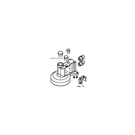 BOUCHON 3/8 DE GROUPE ORIGINE SIMONELLI - FQ6855