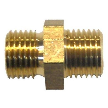 FQ6870-RACCORD 1/4-1/4 M8 ORIGINE SIMONELLI
