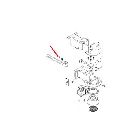 VIS INOX M4X12 ORIGINE SIMONELLI - FQ6829
