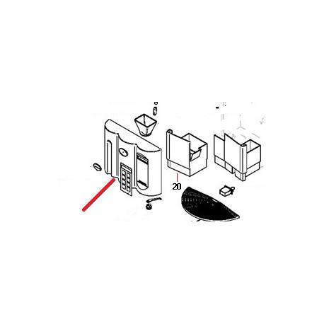 ADHESIF MICROBAR PERSO NOIRE ORIGINE SIMONELLI - FQ6915