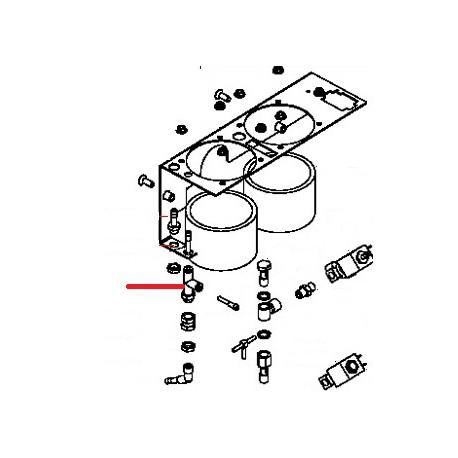 RACCORD RAPIDE EN T 1/8 D4 ORIGINE SIMONELLI - FQ6938