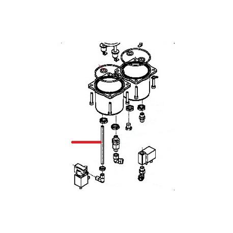 TUBE CHAUDIERE D6 MICROBAR ORIGINE SIMONELLI - FQ6940