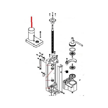 MOTOREDUCTEUR GROUPE MICROBAR ORIGINE SIMONELLI - FQ6058