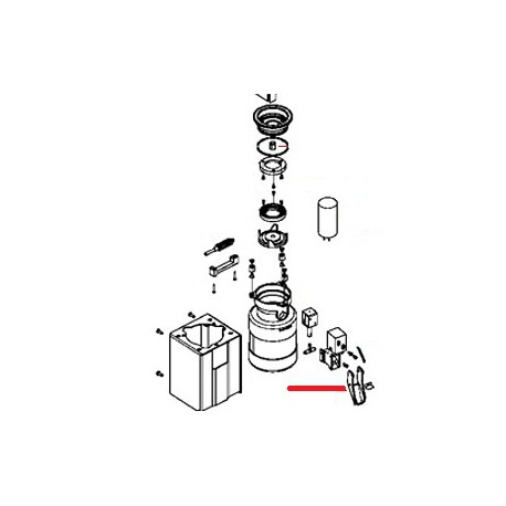 CONVOYEUR CAFE MOBILE ORIGINE SIMONELLI - FQ6091