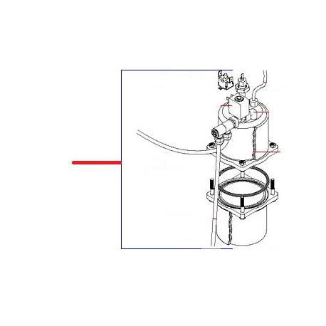GROUPE CHAUDIERE COMPLET 230V ORIGINE SIMONELLI - FQ6022