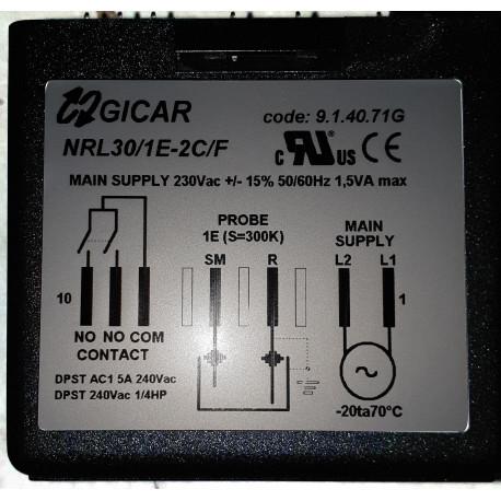CENTRALE GICAR DE NIVEAU RL30/1E-2C - FCQ650