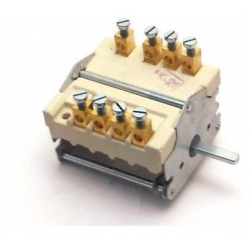 COMMUTATEUR  4POSITIONS 0-1-2-3 250V 32A AXE 6X4.6MM