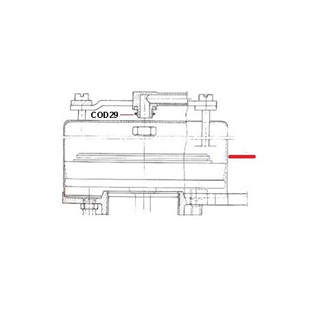 CLOCHE INOX DIAMETRE 150MM - HQ985