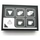 CLAVIER CAFE/VAPEUR LEDS VERTES RUMBA - HQ367