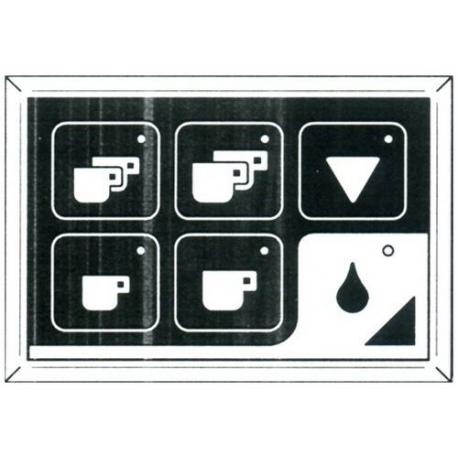 CLAVIER CAFE/EAU DROIT RUMBA CLASSIC - HQ368
