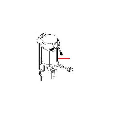 THERMOSTAT COMPLET 2.5LT ORIGINE ASTORIA - J55705