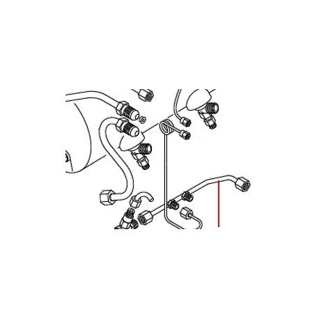TUBE DISTRIBUTEUR ORIGINE D8 - JQ66689