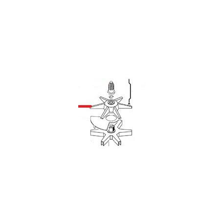 ETOILE MELANGEUR ORIGINE CIMBALI - ZSQ6522