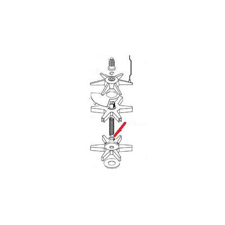 ECROU M10 ORIGINE CIMBALI - ZSQ6524