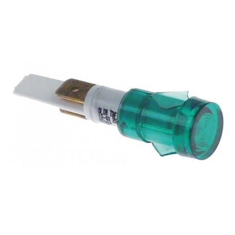 LAMPE TEMOIN VERT 230V MD ORIGINE CIMBALI - ZSQ6679