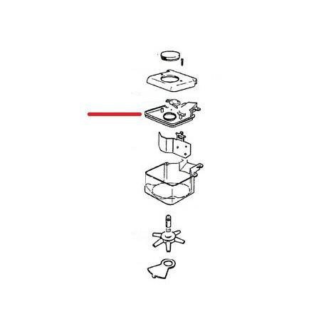 PANNEAU FERMETURE DOSEUR ORIGINE CIMBALI - ZSQ6602