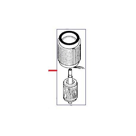 MOTEUR 220V ORIGINE WEGA - JS5593