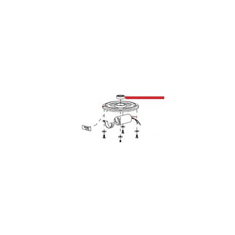 COUVERCLE MOTEUR SUPER JOLLY ORIGINE MAZZER - ZEQ18