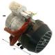 MOTEUR POUR POMPE ROTATIVE 230V ORIGINE RANCILIO - CEBQ660