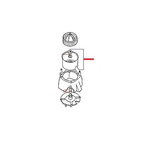 CUVE INOX COMPLETE ORIGINE SANTOS - FAQ915