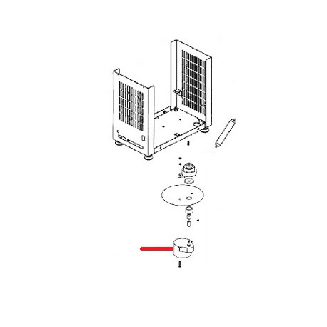 MOTEUR REDUCTEUR 230V ORIGINE SANTOS - FAQ178