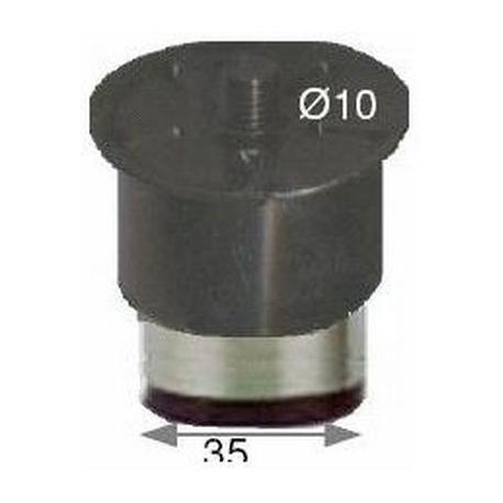 PIED REGLABLE EN 10MM EN INOX - NFQ60863