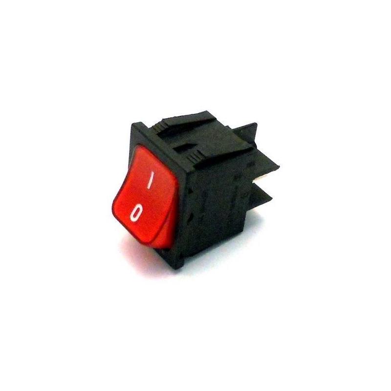 interrupteur lumineux rouge bipolaire 250v 16a l 30mm l 22mm. Black Bedroom Furniture Sets. Home Design Ideas