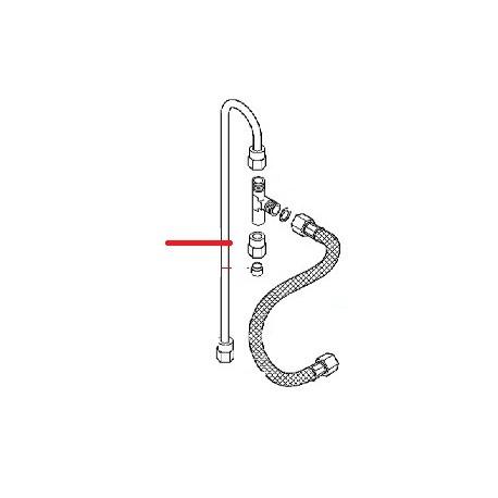 RACCORD MANOMETRE 1/8 ORIGINE ASTORIA - NFQ70256