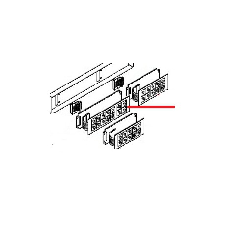 MEMBRANE CLAVIER 1GR+CAPP ORIGINE ASTORIA - NFQ75672558